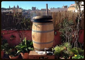 Barril ahumador - Maldito Estómago - Rooftop Smokehouse