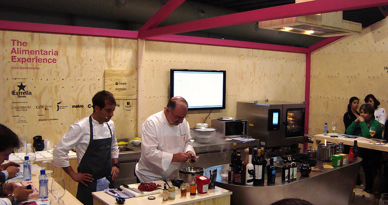 Pedro Subijana, en 'The Alimentaria Experience'