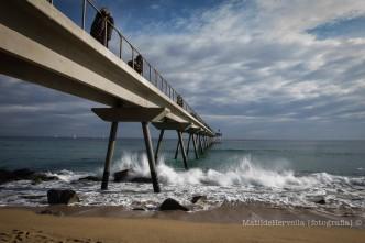 Pont del Petroli en Badalona