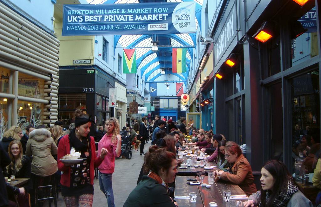 Brixton Village en domingo