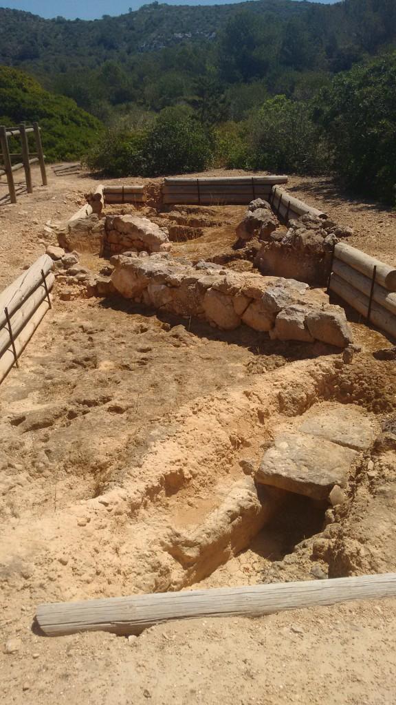 Necrópolis de los monjes bizantinos