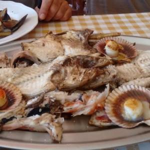 Parrillada de pescado