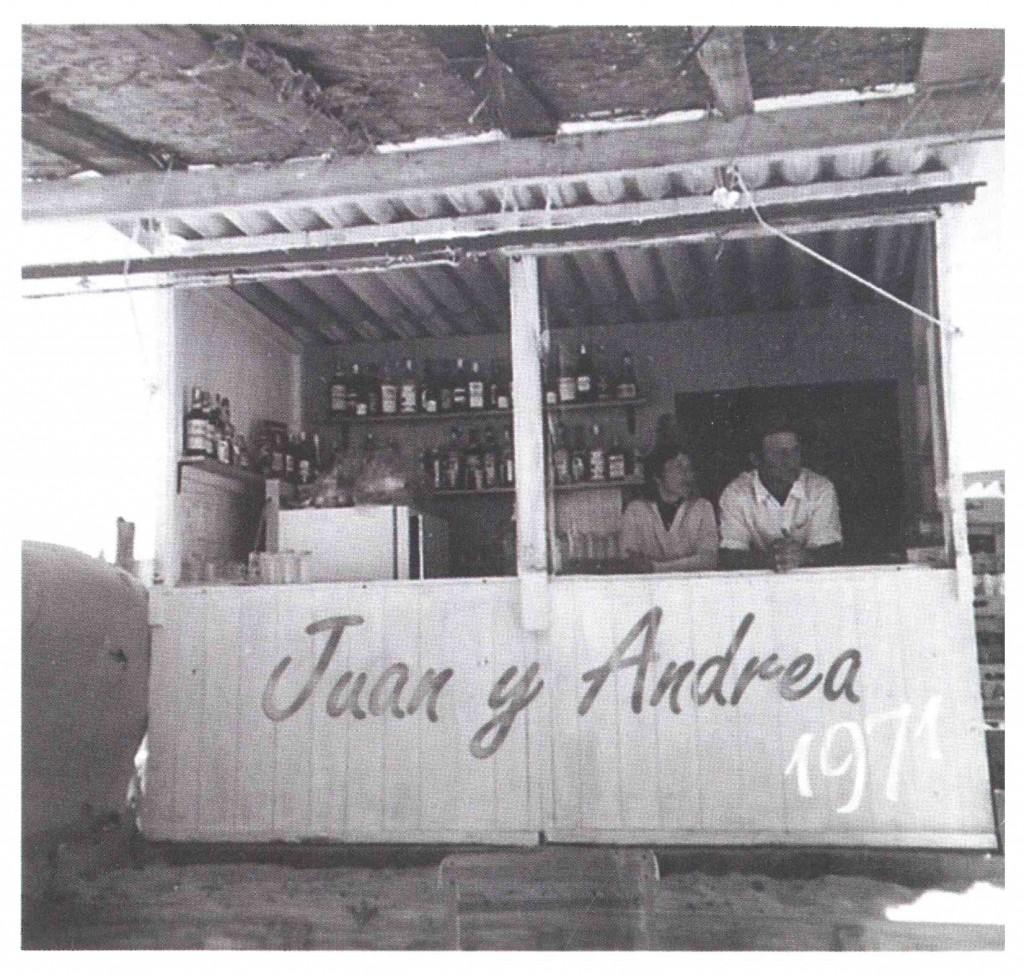 Juan y Andrea, en los 70