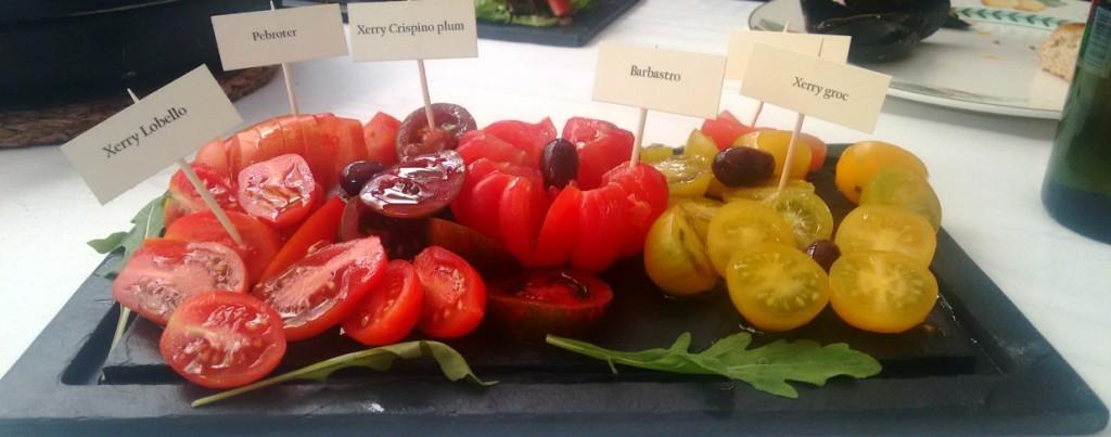 Surtido de tomates
